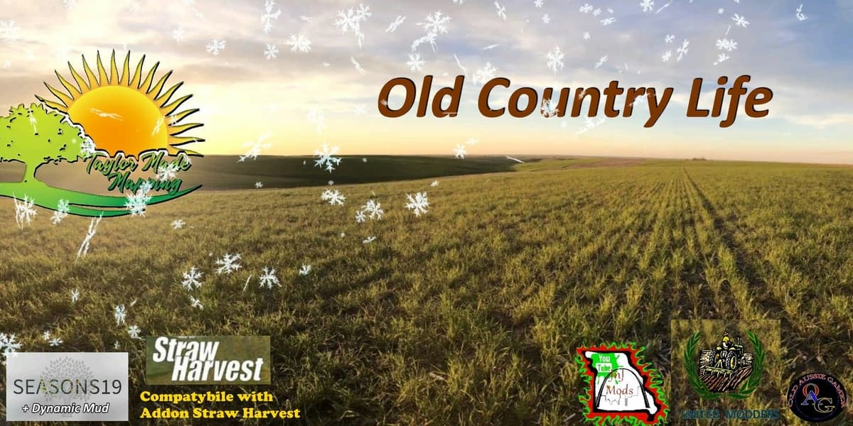 LS19 – Old Country Life 4x Map