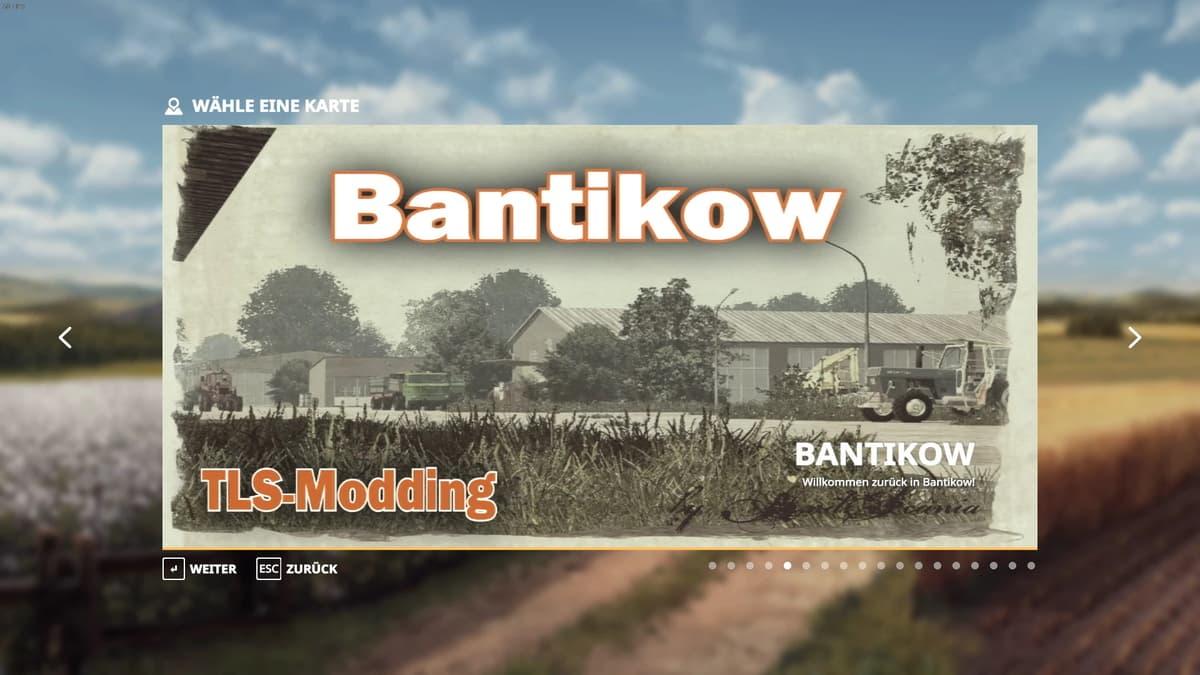 FS19 Bantikow Map v1.0