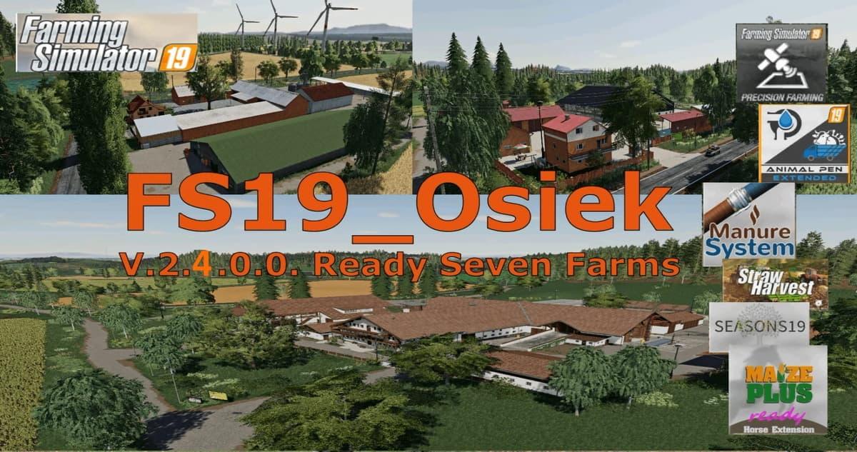 OSIEK Map V3.2.0