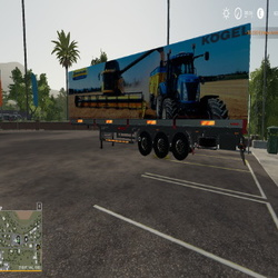 FS19 NEW HOLLAND KOGEL AUTOLOADER TRAILER -   :: Forbidden